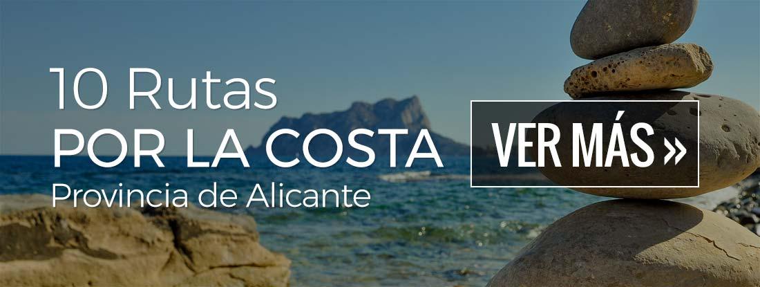 10 Rutas por la Costa de la provincia de Alicante