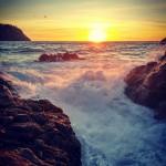 Sunset wind seascape temporal viento portandratx mallorca igersmallorca spain atardecerhellip