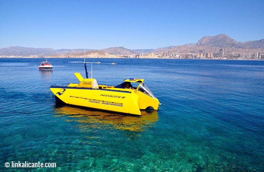 Fondo marino Isla de Benidorm