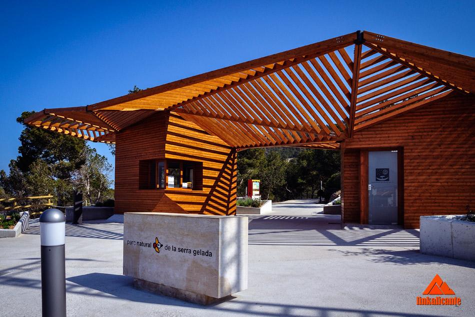 Punto de Información, inicio de la ruta del Faro de l'Albir