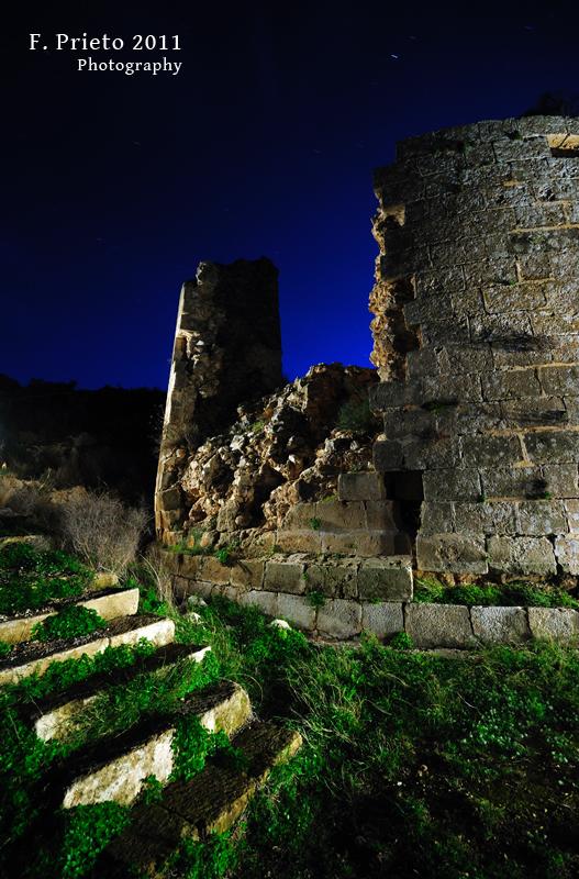 Castell de la Granadella - Fotografía nocturna