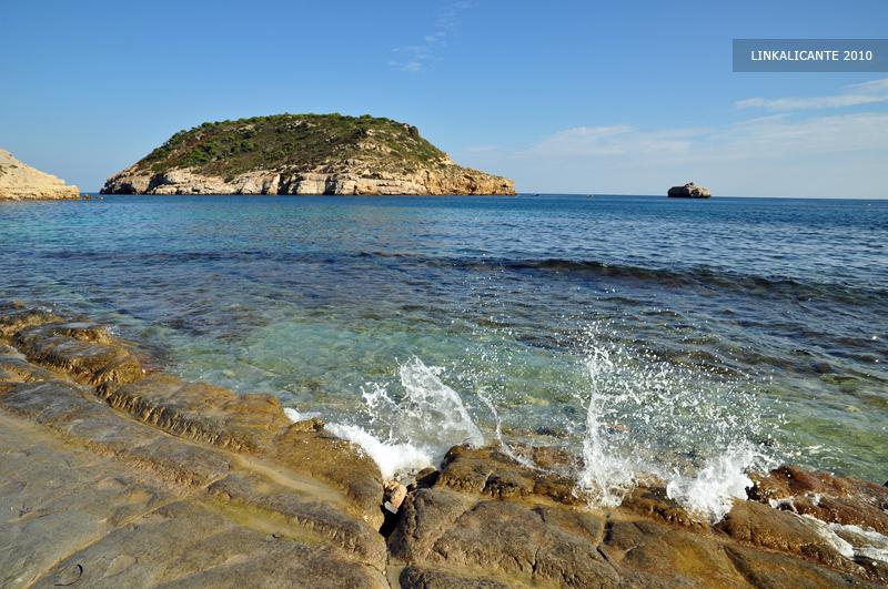 Cala Barraca - Illa del Portitxol, Xàbia