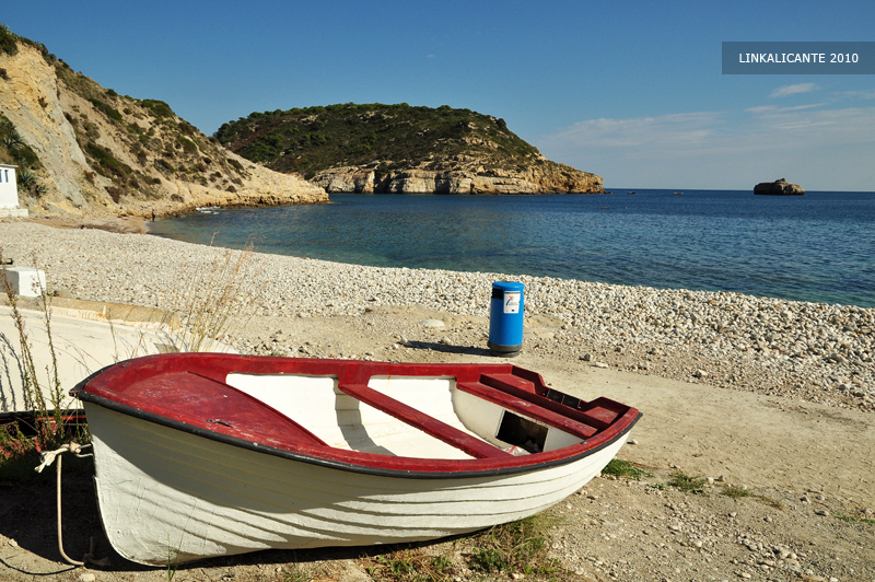 Cala Barraca o del Portitxol, Xàbia