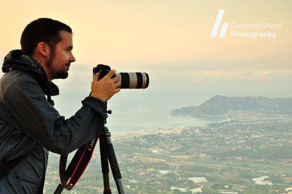 Fernando Prieto - Fotografiando en la Sierra de Bernia, Alicante