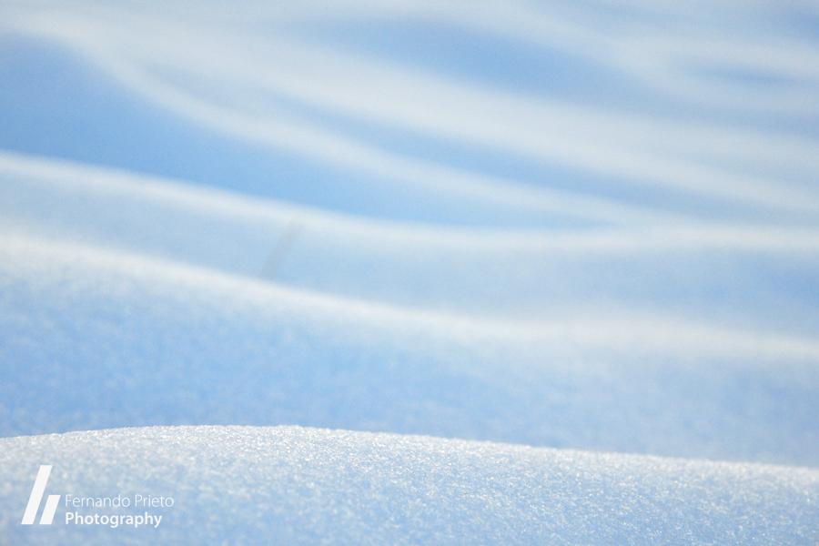 Ondulaciones nieve