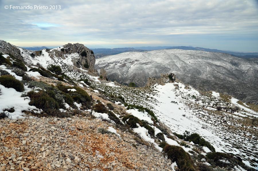 Sierra Alfaro desde Serrella