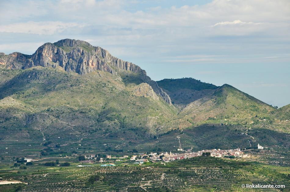 Subida al Benicadell desde Gaianes (2015)