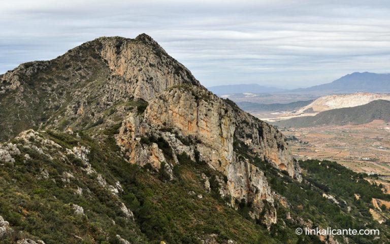 Penya de la Mina, Serra de l'Algaiat
