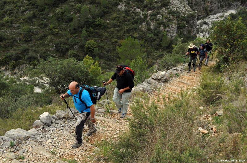 Barranc de l'Infern - Subida a les Juvees d'Enmig