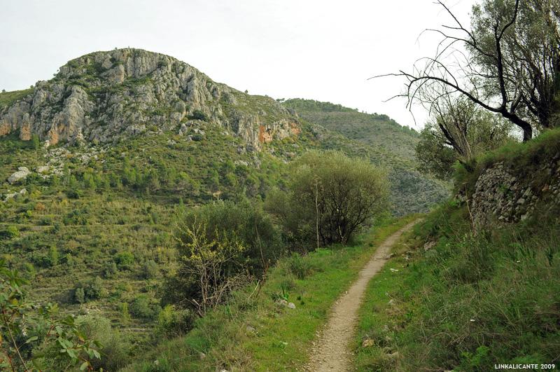 Barranc de l'Infern - Subida a les Juvees de d'Alt