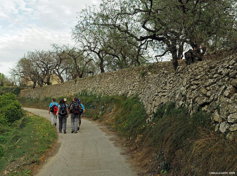 Ruta de senderismo Barranc de l'Infern