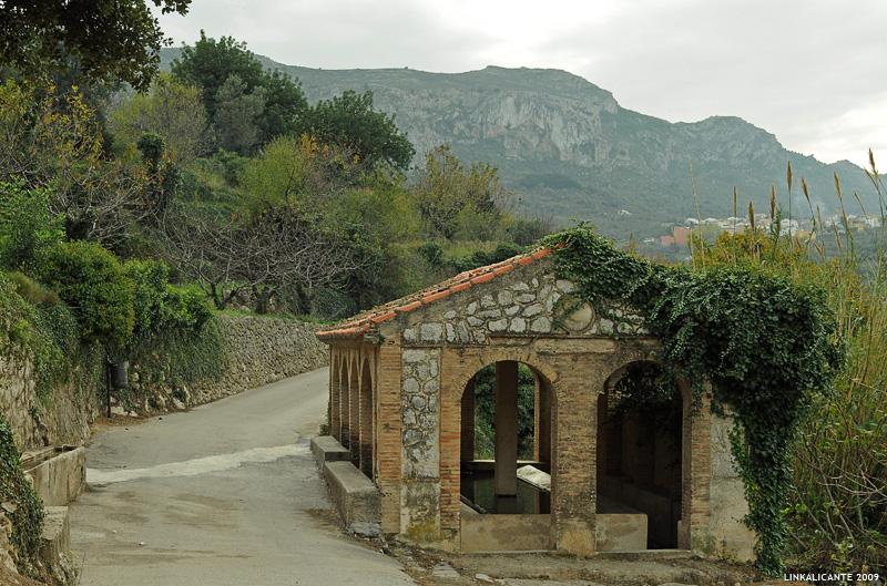 Barranc de l'Infern - Font Grossa y lavador de Fleix