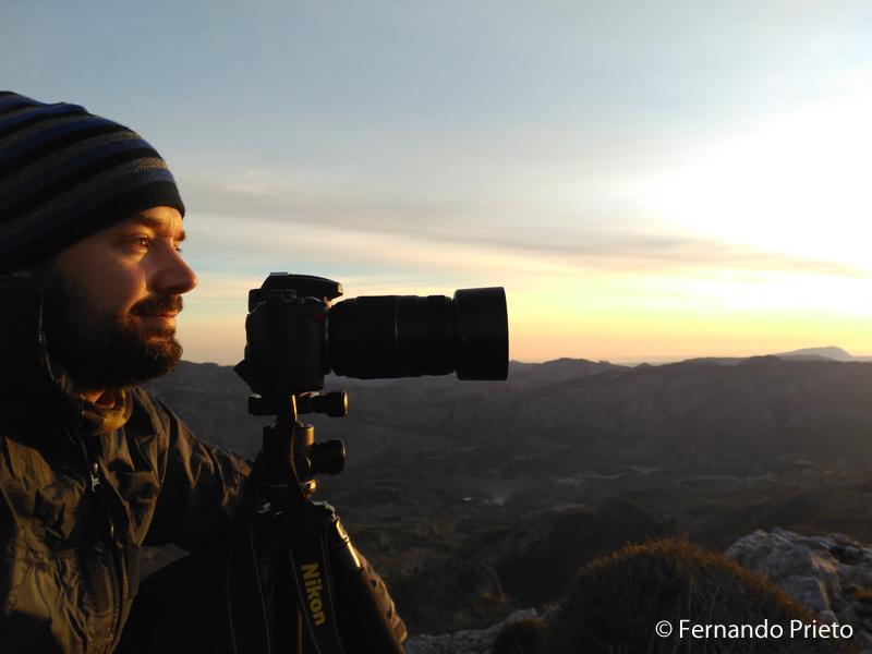 Fotografiar Mallorca desde Sierra Aitana (Alicante)
