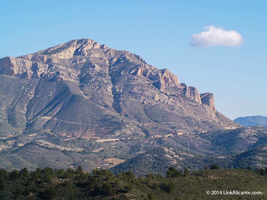 Montañas de Alicante - Penya Migjorn