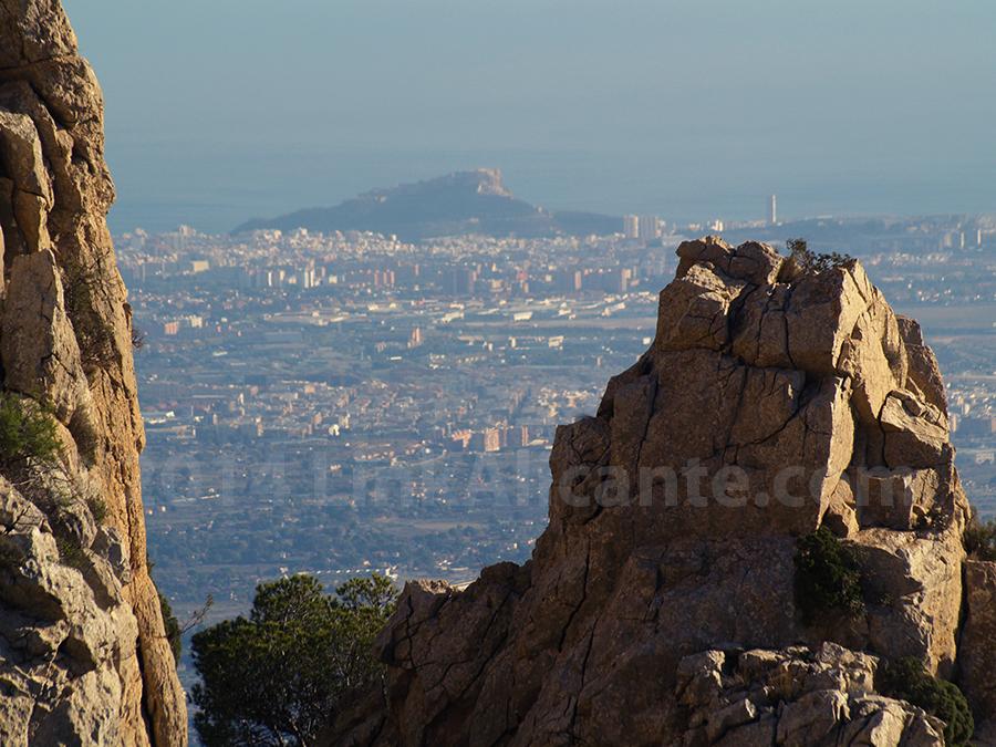 Alicante desde el Maigmó