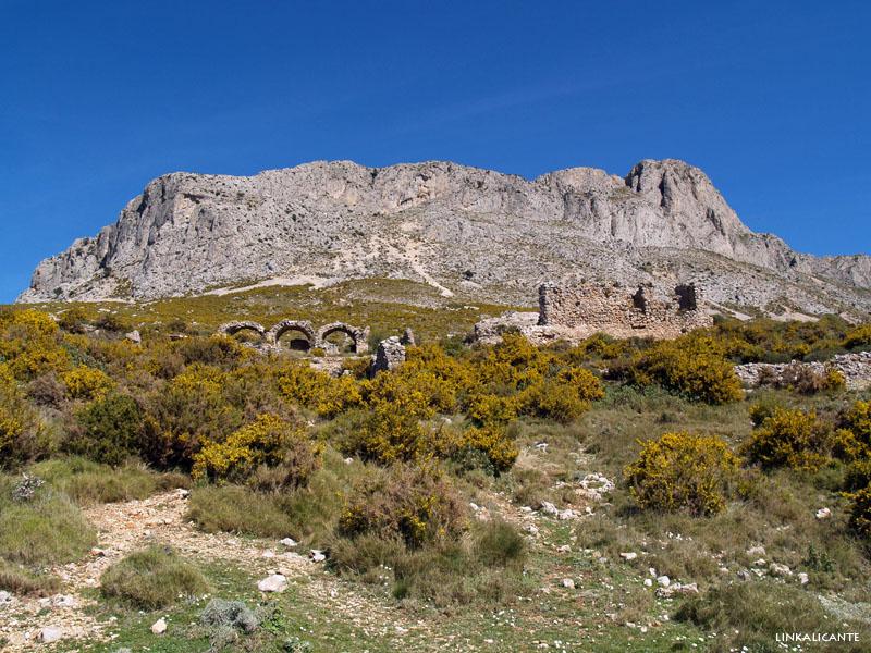 Fort de Bèrnia desde el Algar