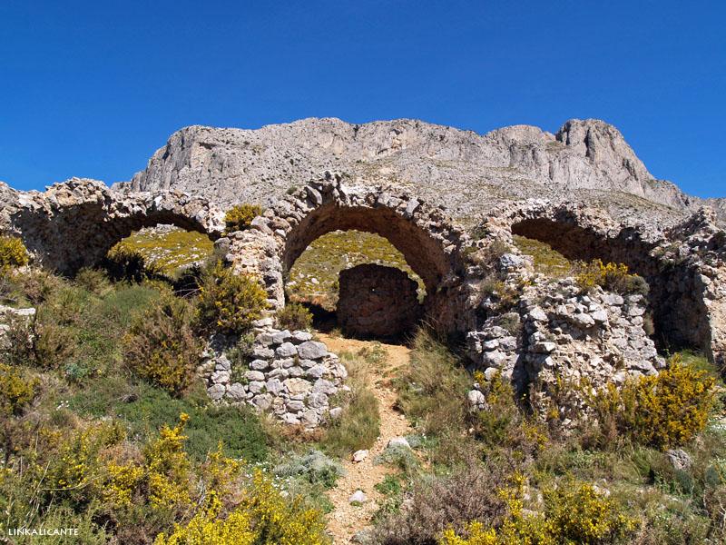 Ruta Senderismo Fort Bèrnia desde Algar
