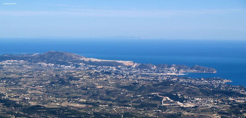 Ibiza desde Bèrnia
