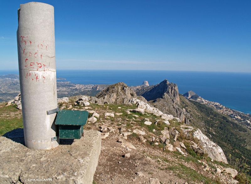 Cumbre Serra de Bèrnia, 1.126 m
