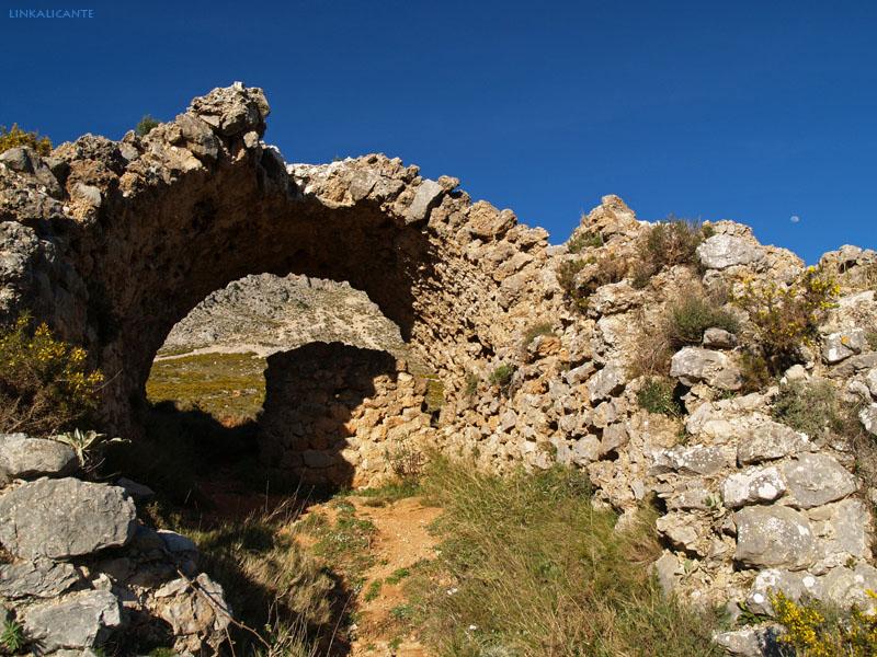 Ruta Serra de Bèrnia desde el Algar