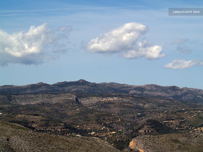 Ruta senderismo Sierra de Oltà, Calp