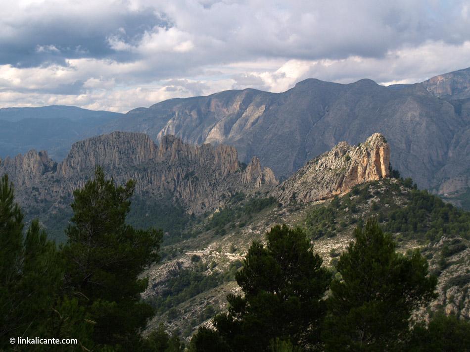 Castellets desde Puig Campana