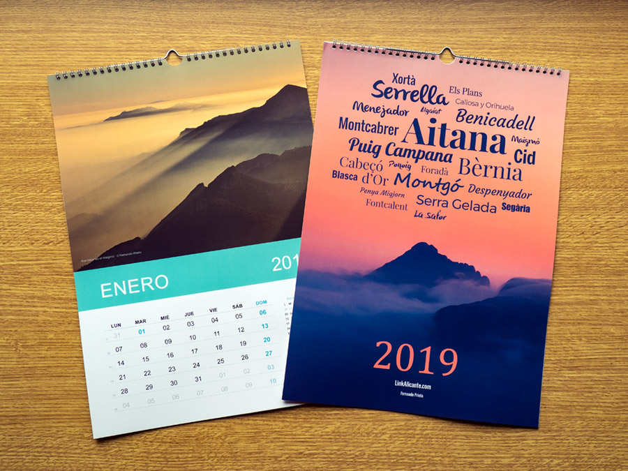 Calendario 2019 LinkAlicante