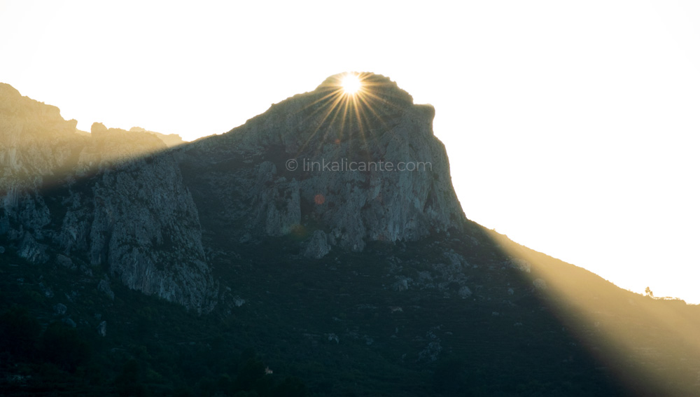 Alineación Solar en Vall de Gallinera