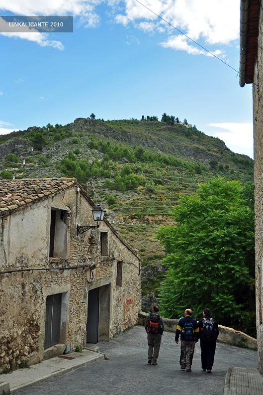 Ruta senderismo Barranc de l'Encanta