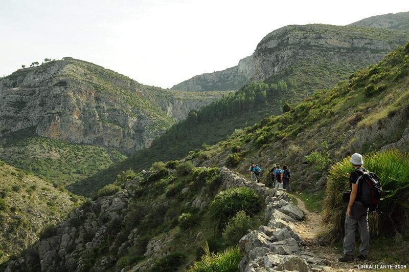 Ruta de Senderismo Barranc de l'Infern, La Catedral del Senderismo - Vall de Laguar, Alicante