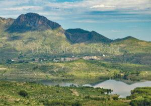 El Benicadell, Beniarrés y su embalse - El Comtat (Alicante)