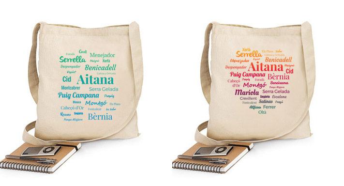 Bolsas de Tela Montañas de Alicante