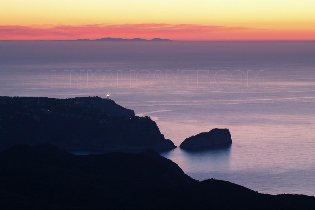 Ibiza y Cabo de la Nao desde Benitatxell