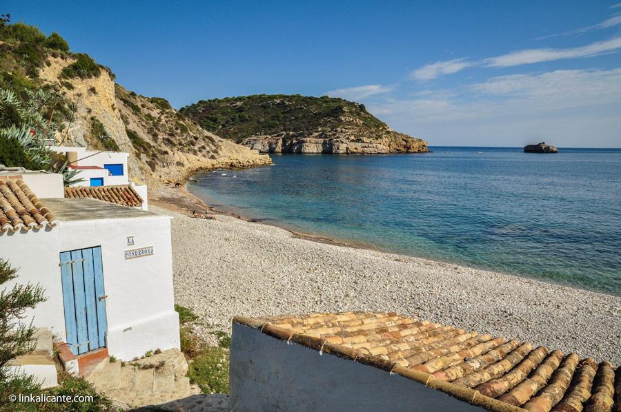 El Cap Prim de Xàbia y su entorno. La Cala Barraca