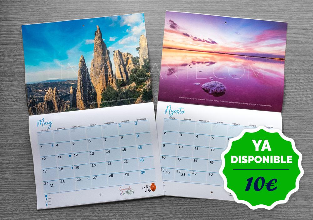 Calendario 2021 de LinkAlicante- vista previa