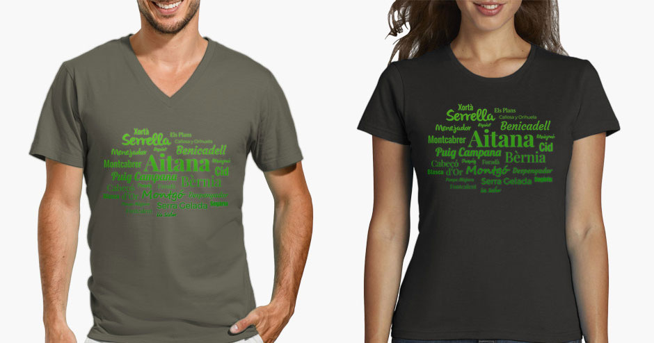 Camiseta Montañas de Alicante