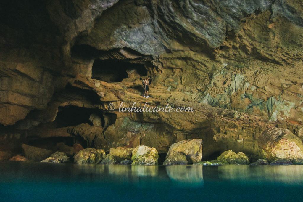 Cova Tallada, Reserva Marina del Cap de Sant Antoni, Xàbia, Alicante