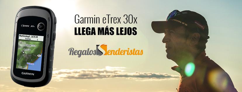 Regalos para senderistas - Garmin-eTrex 30x