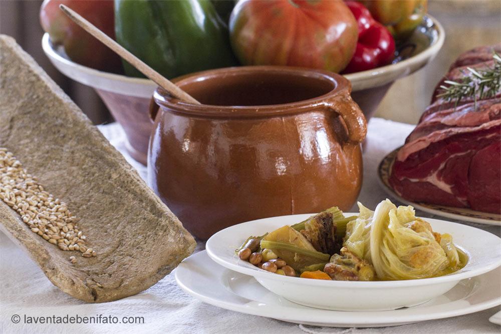 Gastronomía típica de la montaña alicantina