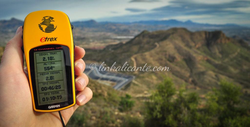 GPS para montaña Garmin eTrex - tracks para senderismo
