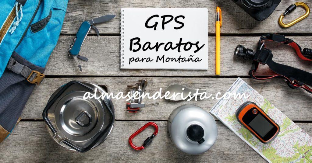 dispositivos gps para montaña