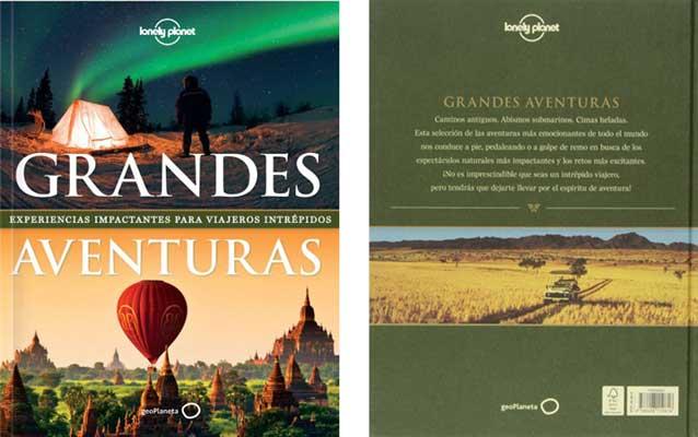 libro grandes aventuras lonely planet