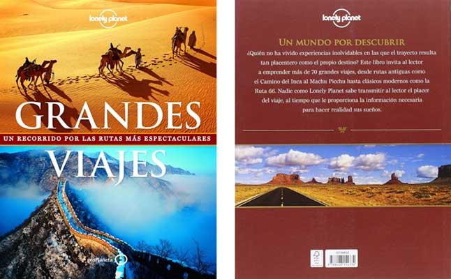 libro grandes viajes lonely planet