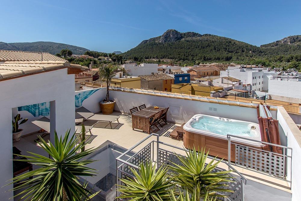 Hotel rural con encanto Mardenit en Orba, Alicante