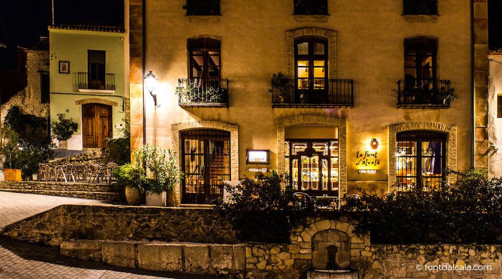 Hotel Rural La Font d'Alcalà, en Alcalà de la Jovada
