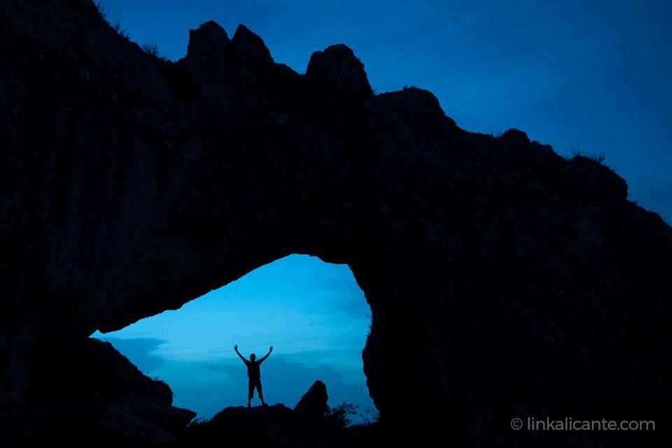 Penya Foradà - fotografía nocturna