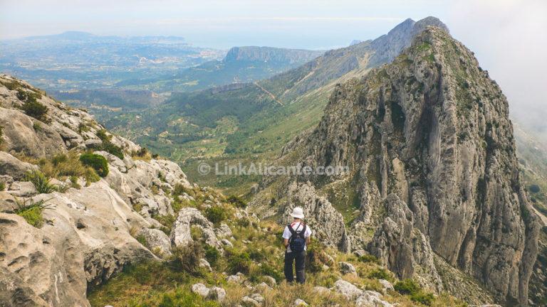 Serra de Bèrnia, integral de la cresta