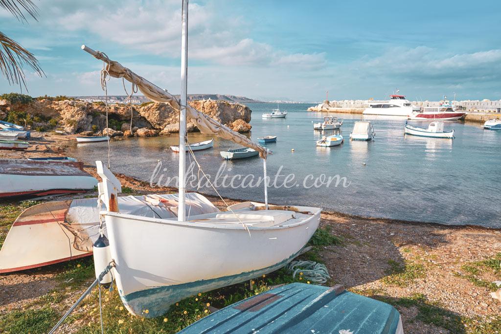 Isla de Tabarca, Alicante, Santa Pola