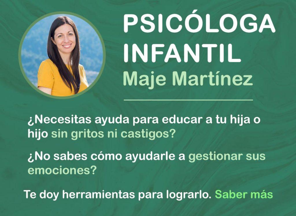 Maje Martínez - Psicóloga Infantil Alicante