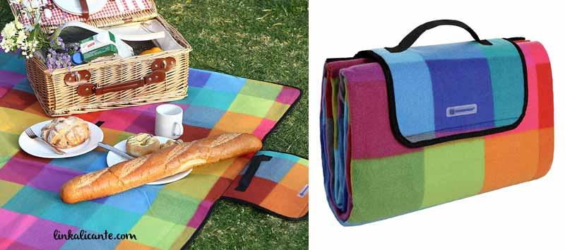 manta picnic plegable
